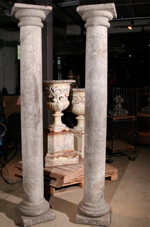 Finnegan Gallery Pair Of Italian Late 19th Century Stone