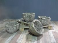 Set of 4 Cotswold Stone Planters
