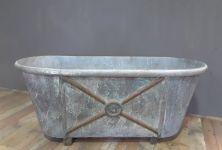19th Century French Zinc Bath