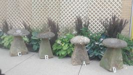 English Late 18th and Early 19th Century Staddle Stones